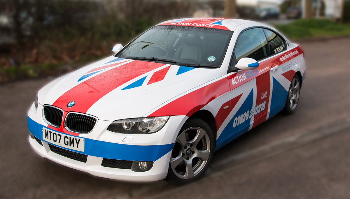 Action Coach BMW Graphics