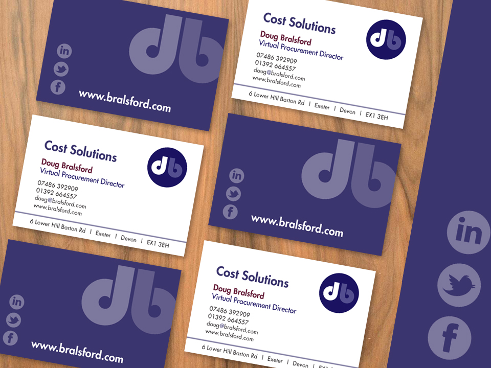 Doug Bralsford Business Card Design, Design Portfolio