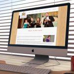 Music in the Castle Website, Design Portfolio