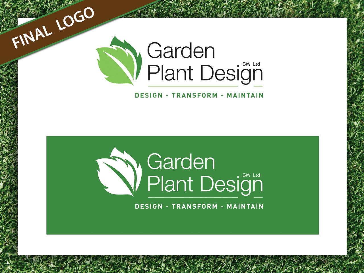 Garden Plant Design - Final Logo Design