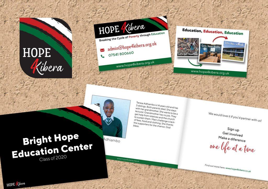 Hope4Kibera branding