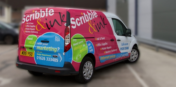 Scribble & Ink Van Graphics