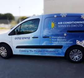 Air Conditioning Services – Branding Work